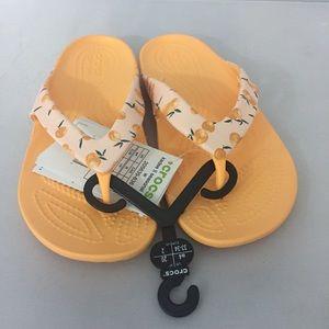 Crocs Womens Sz 4 Kaydee II Thong Sandal flip flop